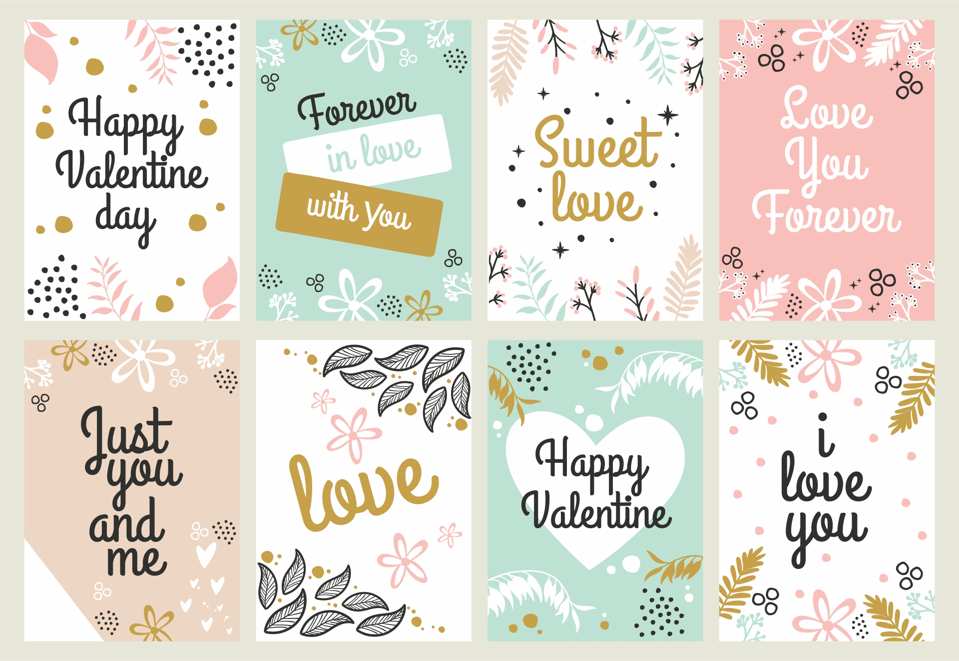 4 Images of Printable Valentine Gift Tags