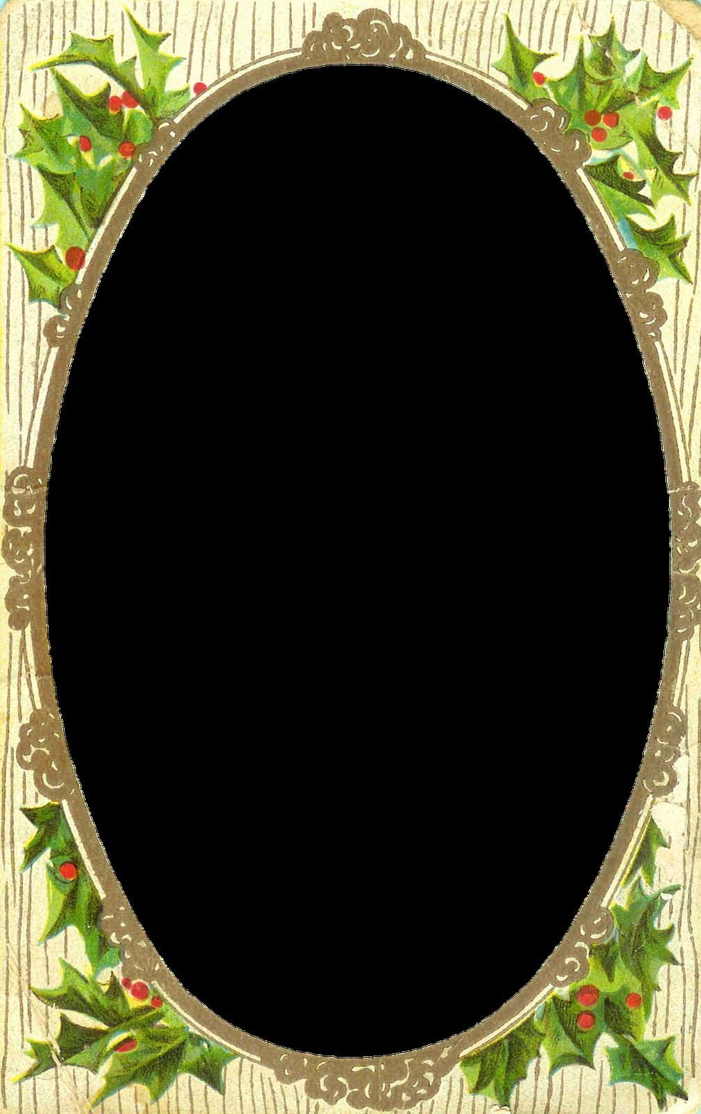 5 Images of Free Printable Christmas Tag Frames