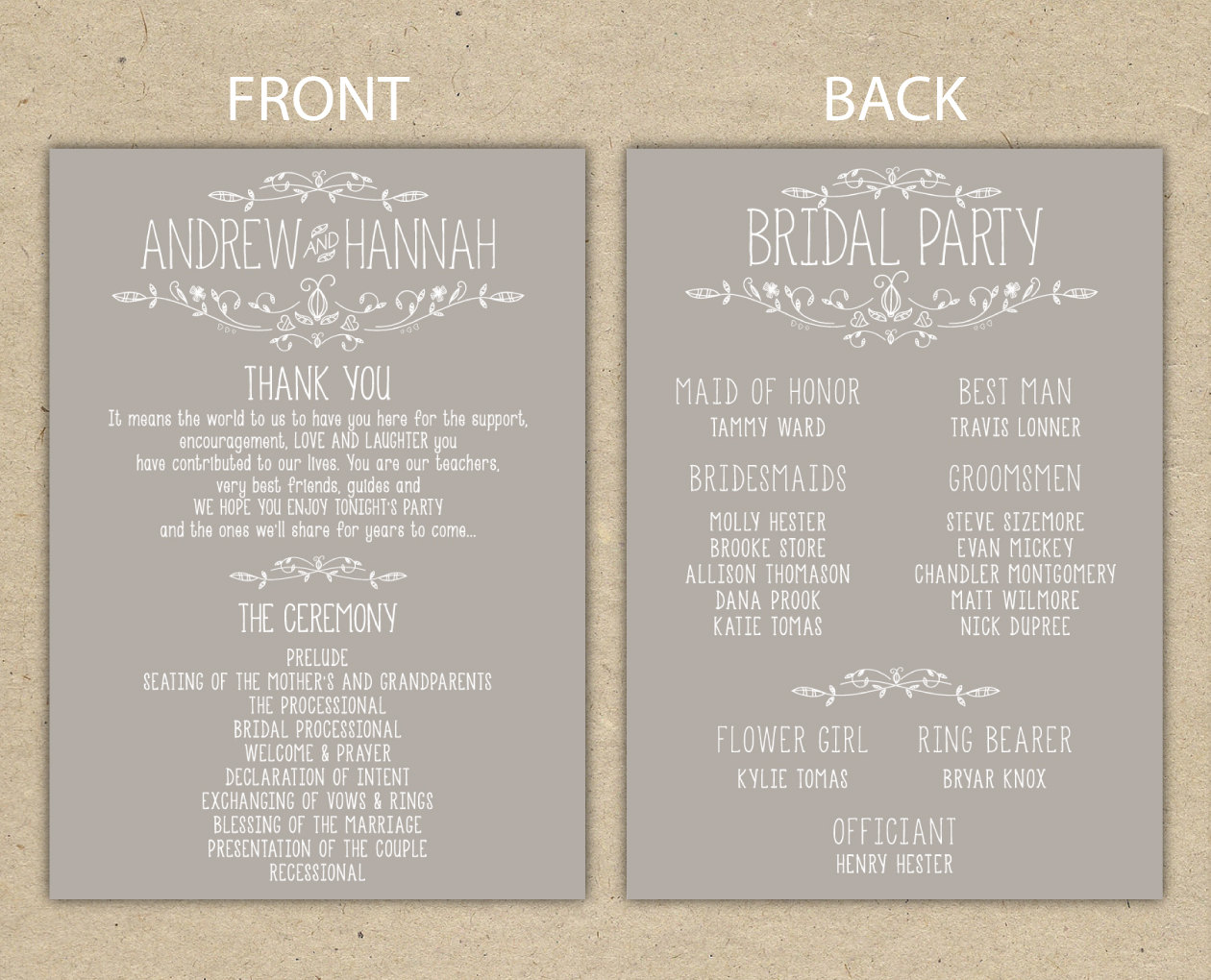 6 Images of Free Printable Wedding Reception Templates