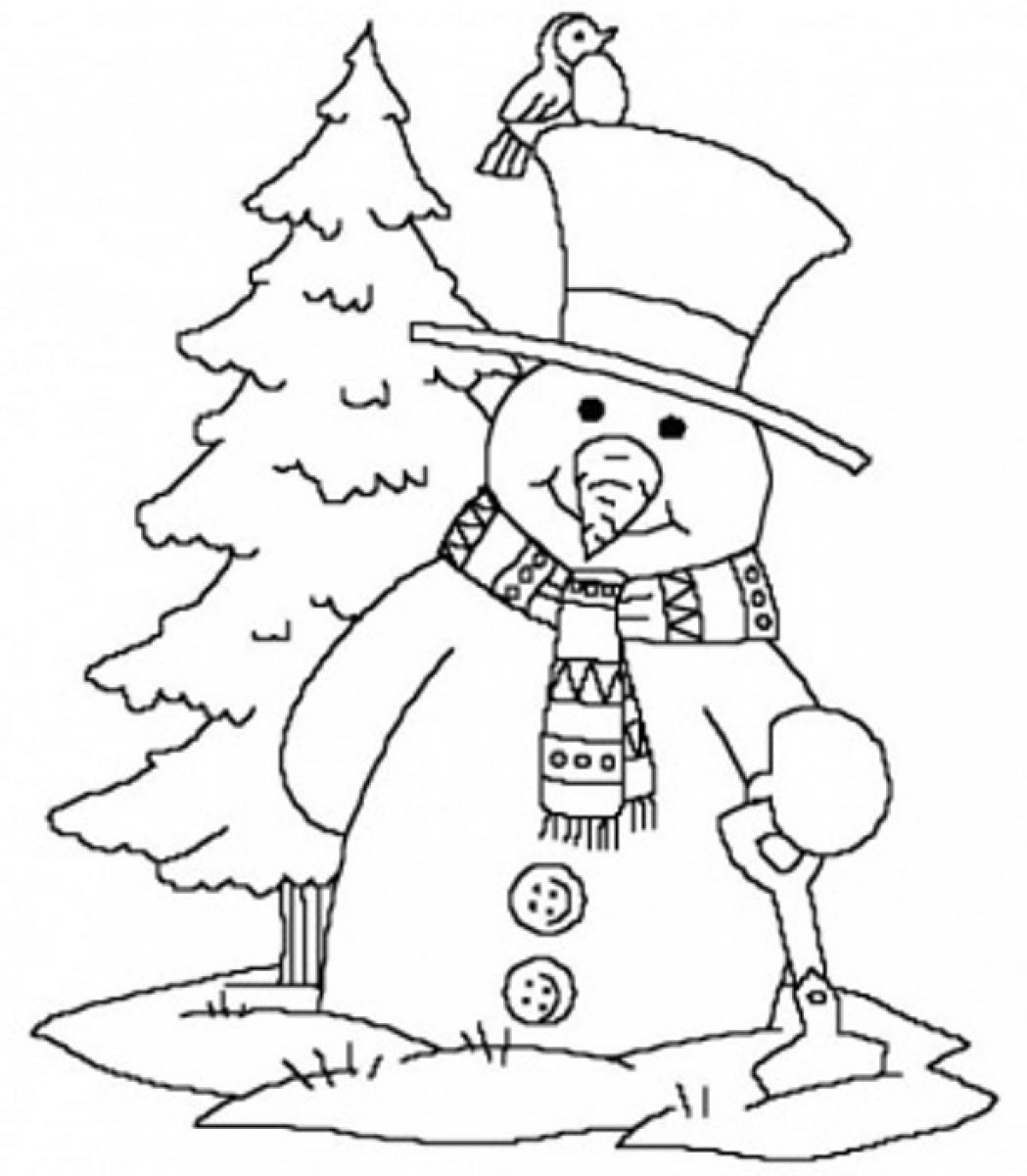 5 Images of Snowflake Printable Winter Coloring Pages
