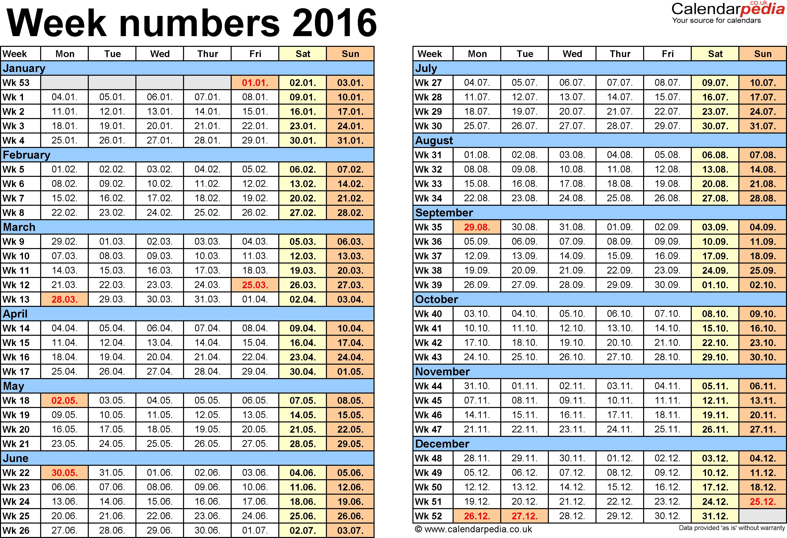 Calendar 2016 Printable - 2015 Calendar with Holidays, 2016 Calendar ...