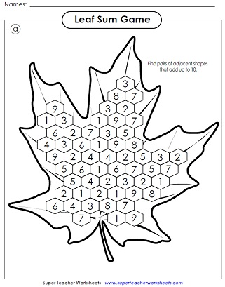 2nd Grade Fall Worksheets