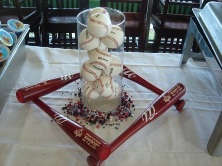 6 Images of Free Printable Baseball Party Centerpiece
