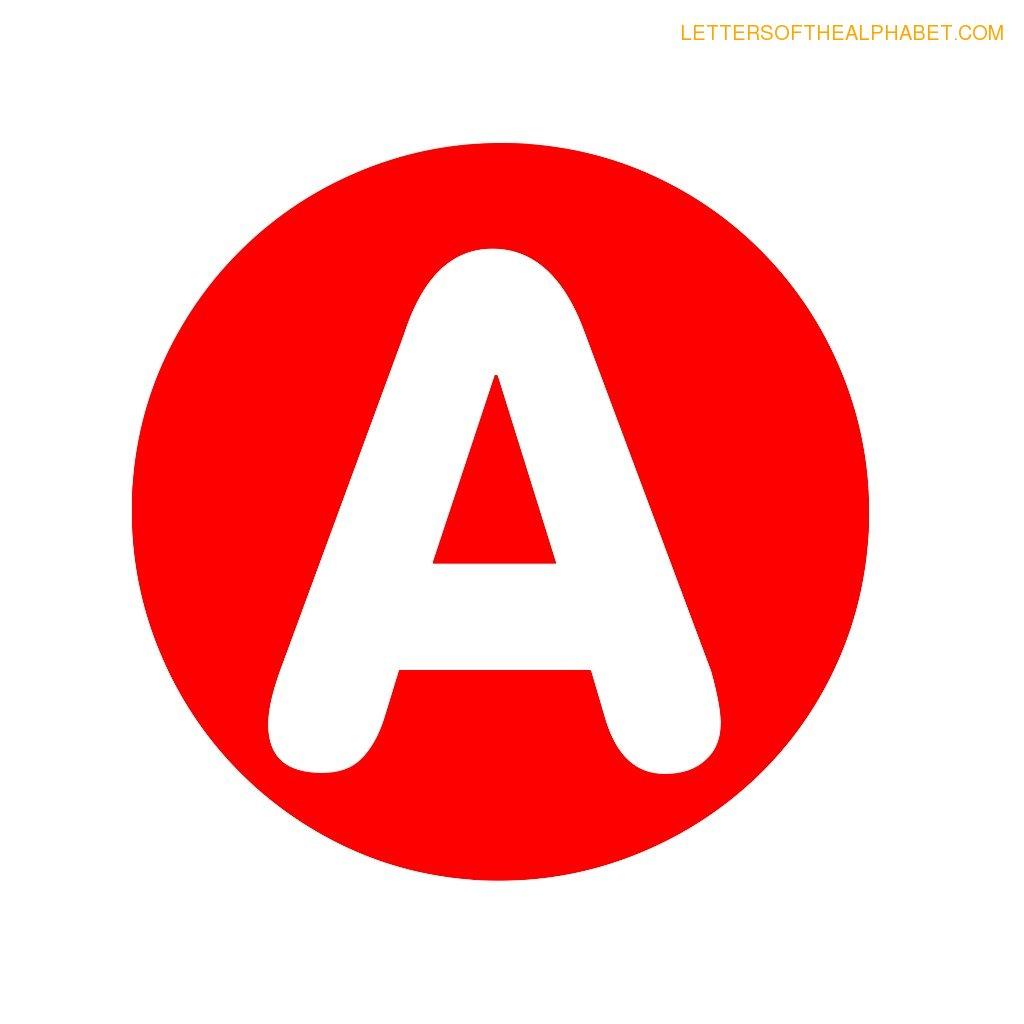 Circle Alphabet Letters