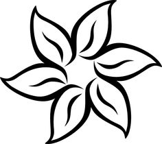 5 Images of Printable Flowers Stencil Art
