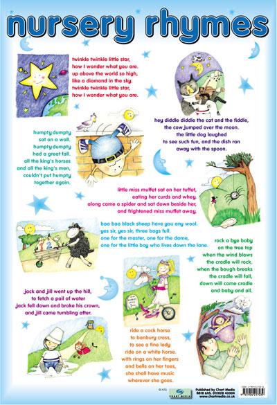 8 Images of Words To Nursery Rhymes Printable