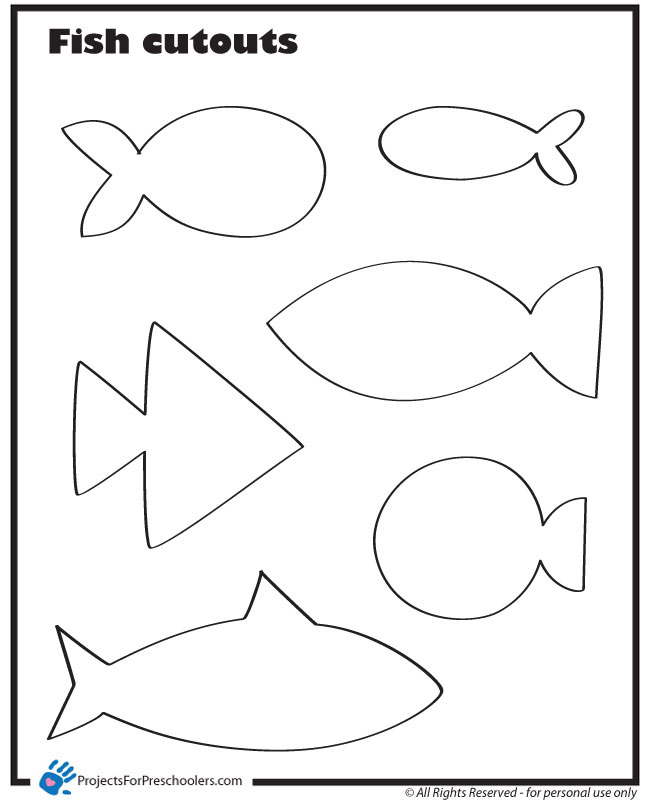 4 Images of Free Printable Pictures Of Fish