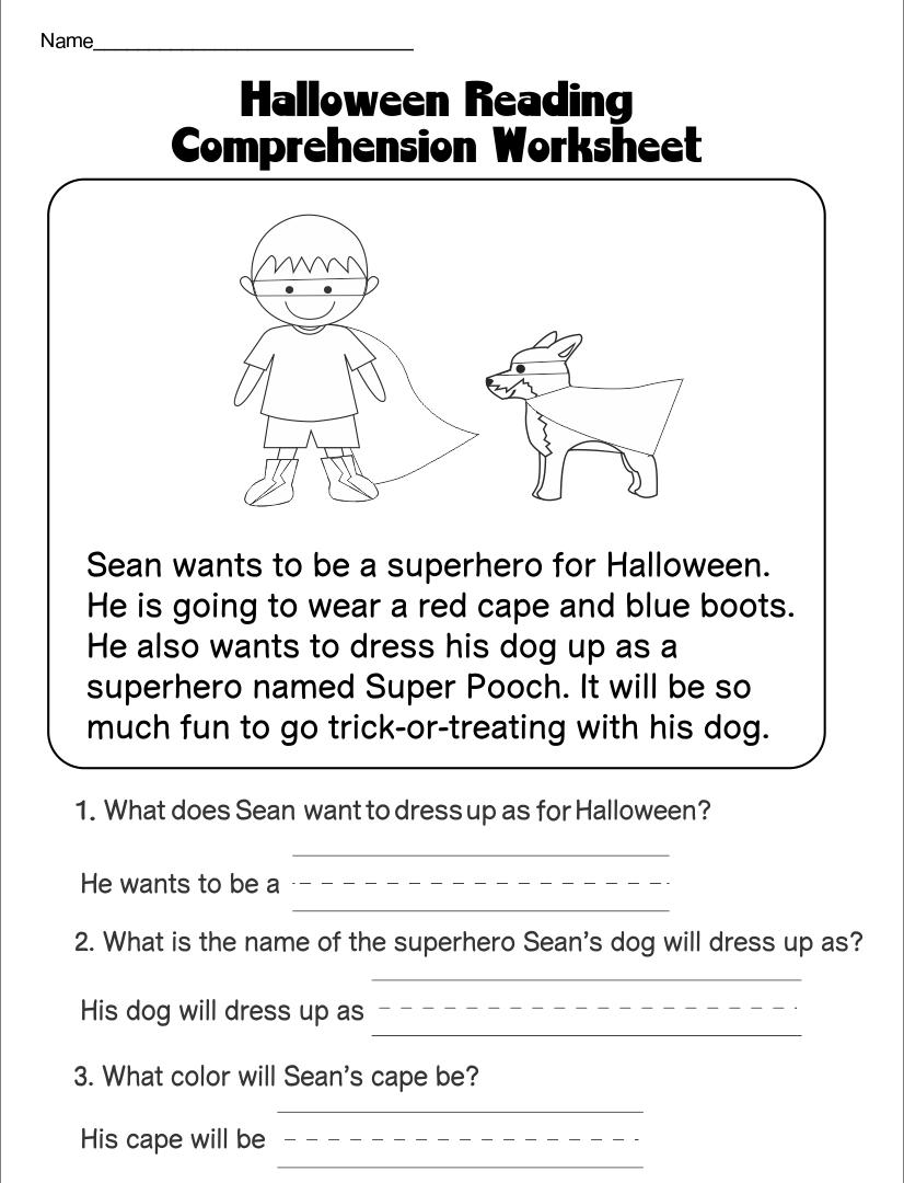 Halloween Educational Printables