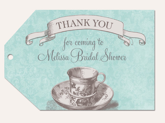 4 Images of Free Printable Bridal Shower Gift Tags