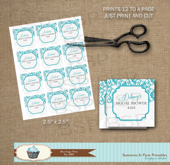 Examples Of Wedding Favor Tags : Free Printable Wedding Shower Favor TagsWedding Invitation Sample