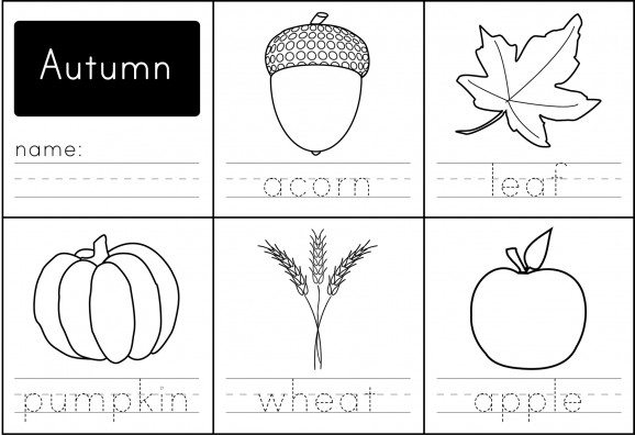 Free Printable Fall Worksheets