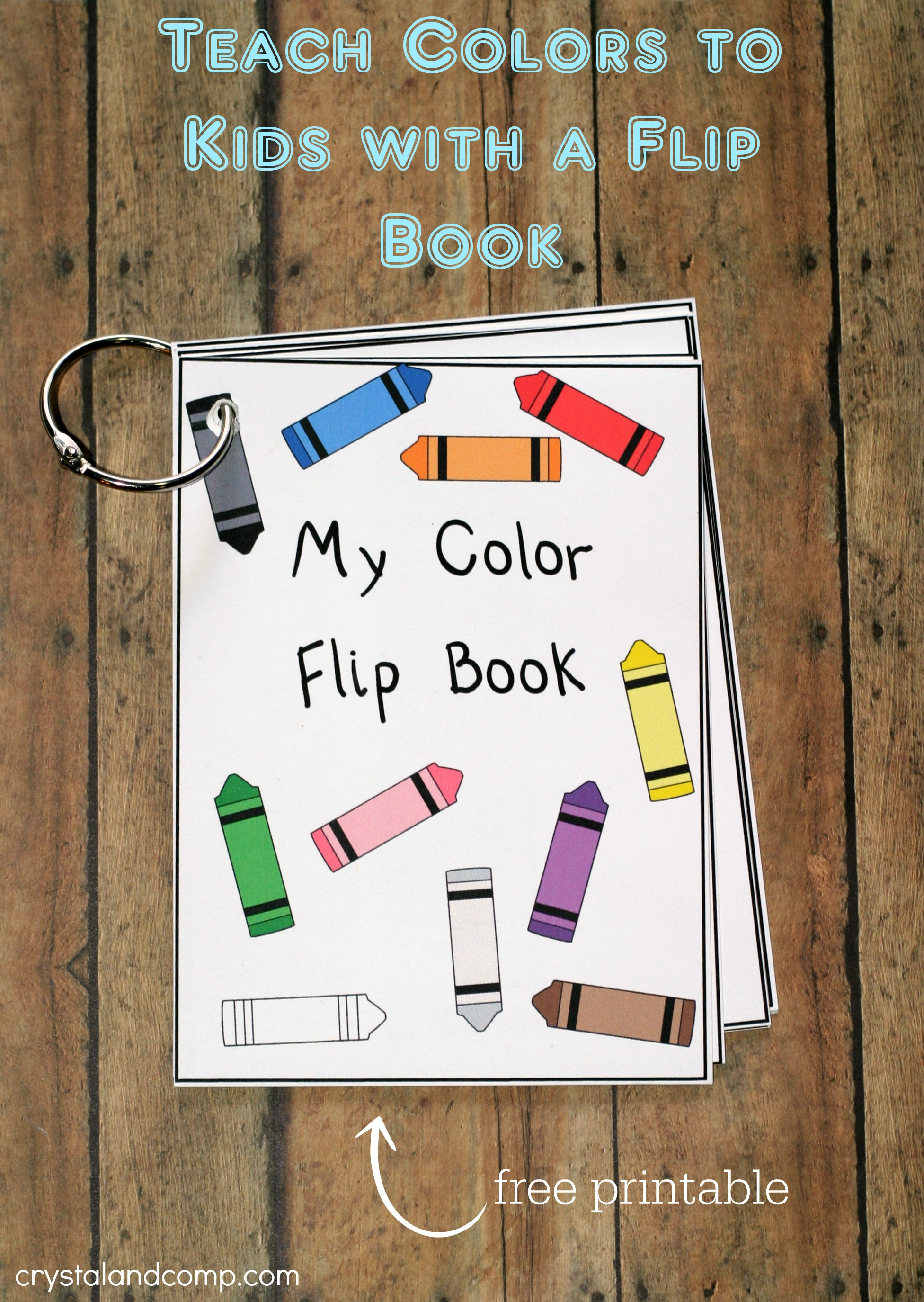 7 Images of Printable Books To Teach Colors