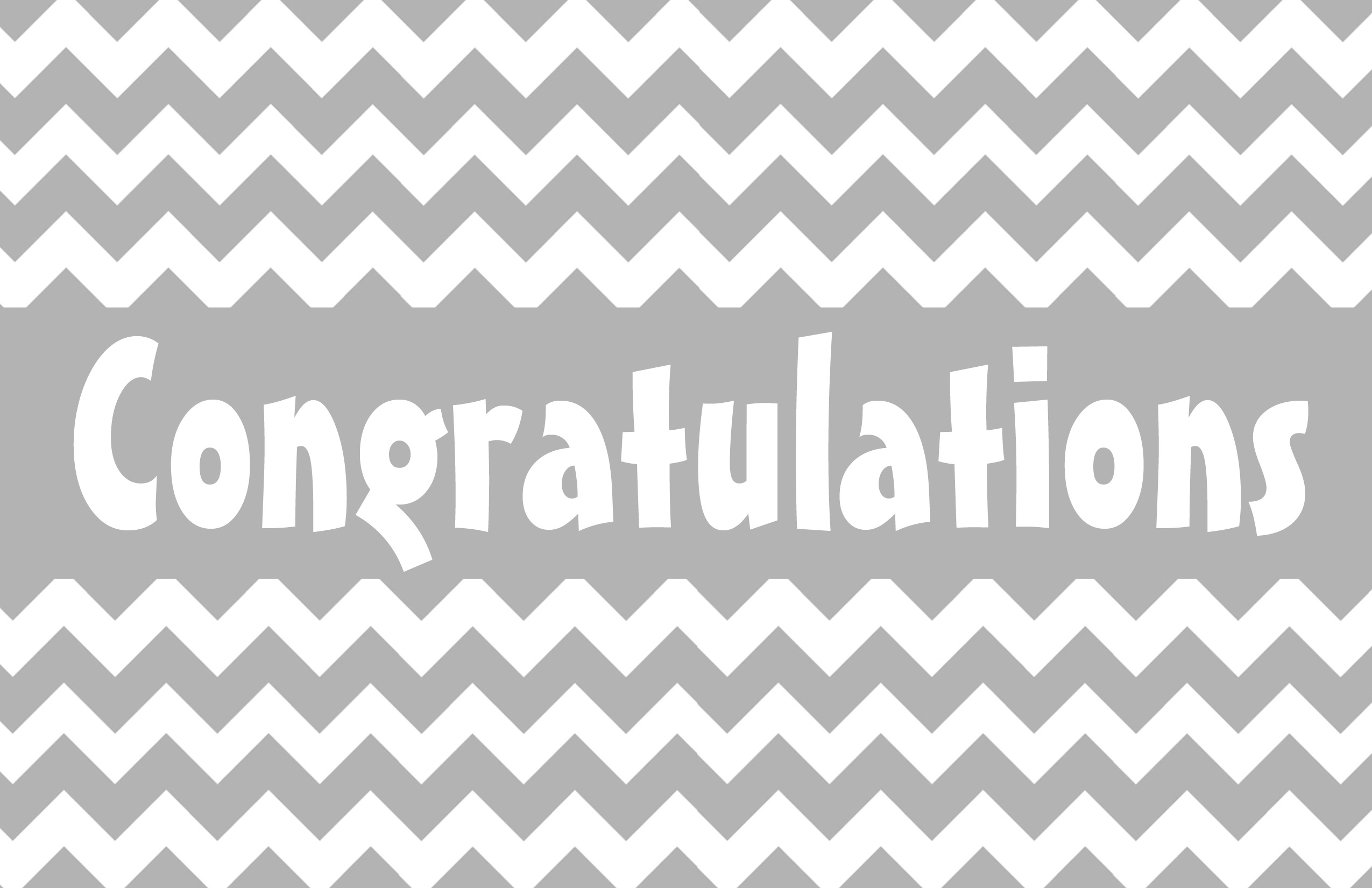 7 Images of Printable Congrats Cards