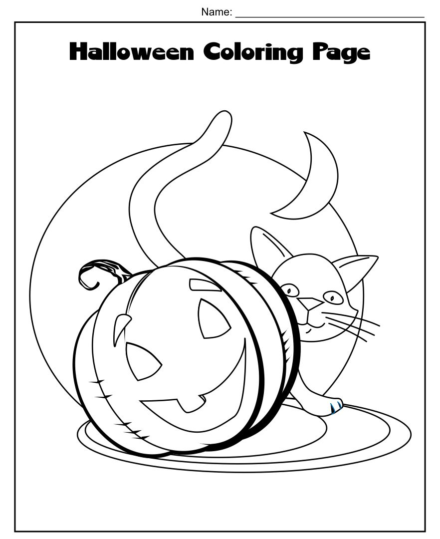 Printable Halloween Activity Sheets