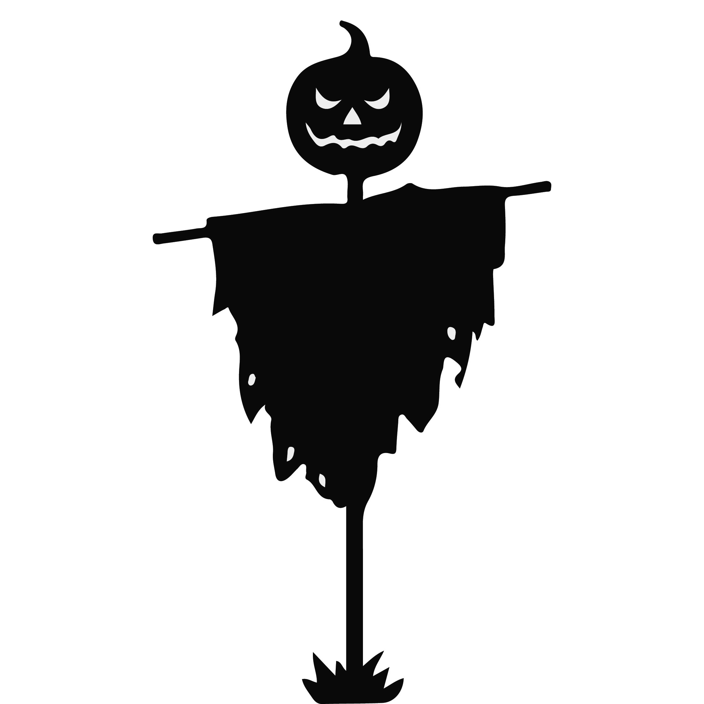 Halloween Mouse Silhouette