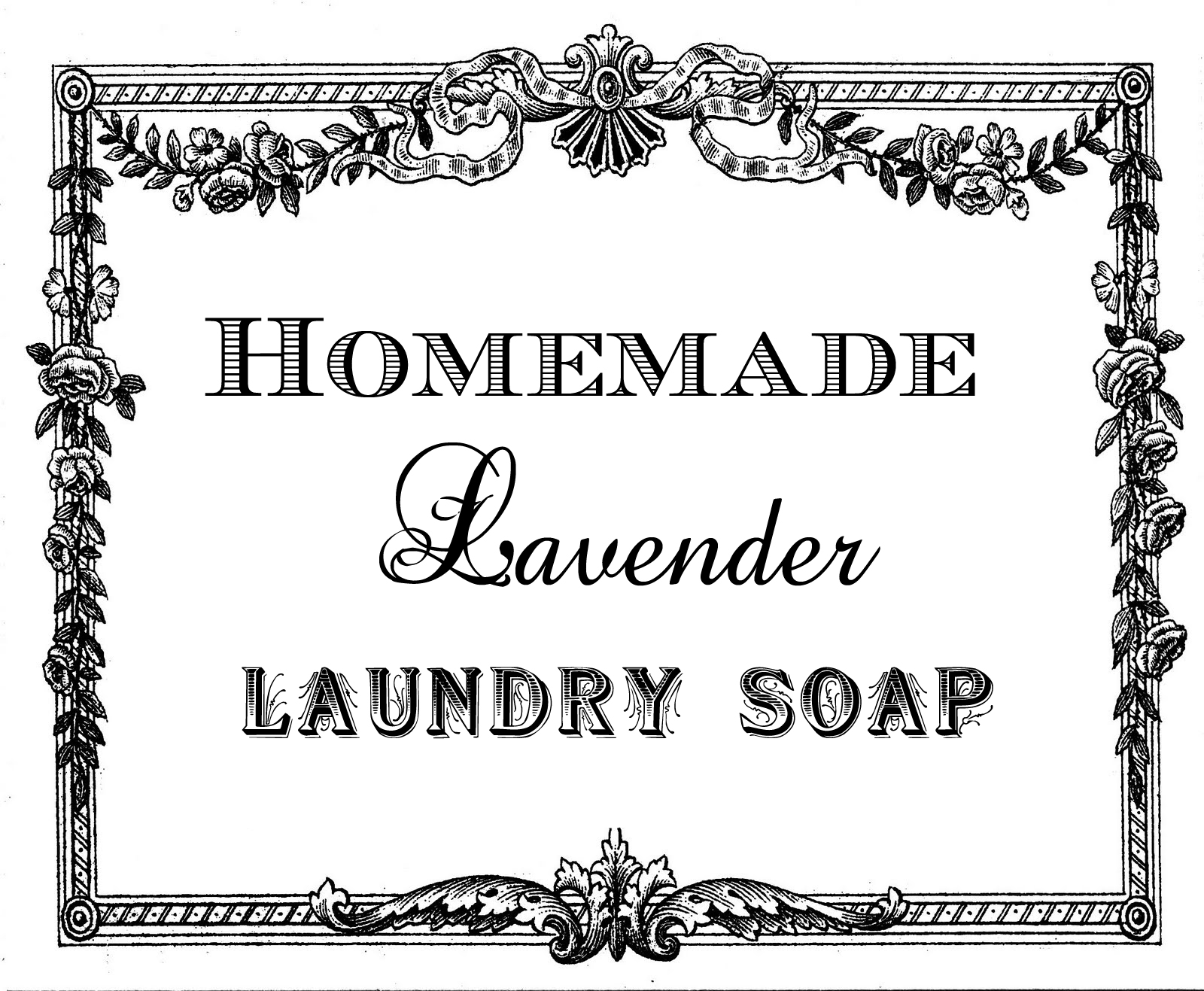 5 Images of Printable Laundry Labels