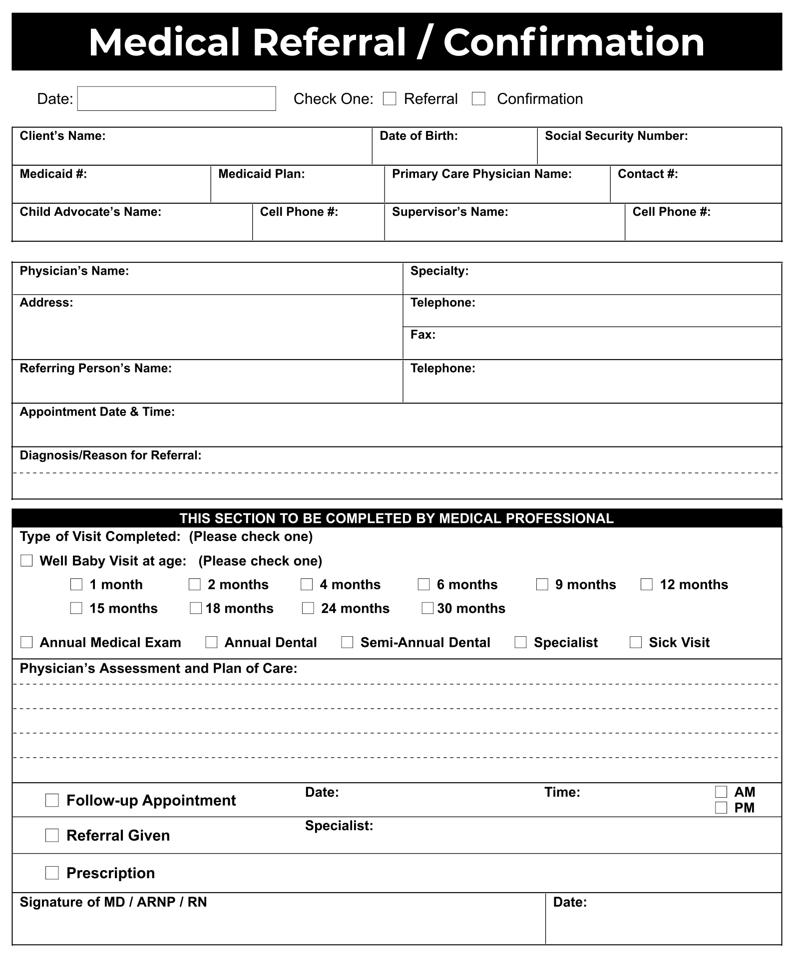 9 Best Images of Printable Forms Medical Doctors Free Printable – Free Printable Doctor Forms