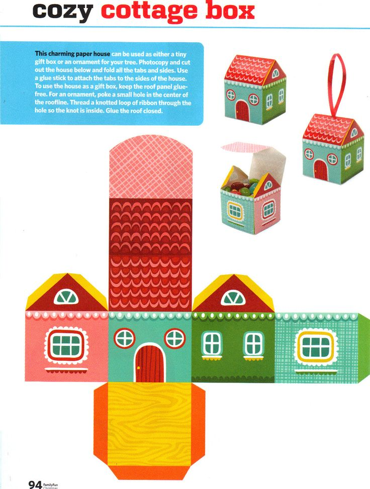 6 Images of Free Printable Paper House