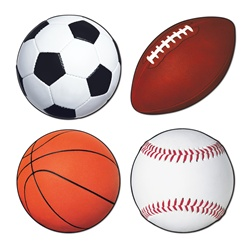 6 Best Images Of Printable Sports Ball Cutouts Free