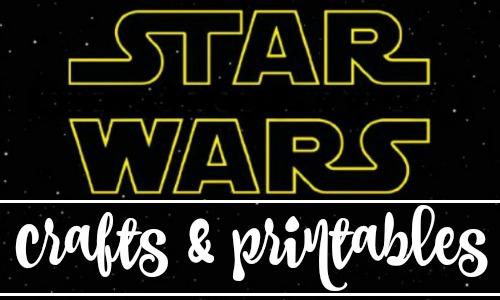 Free Printable Star Wars Crafts