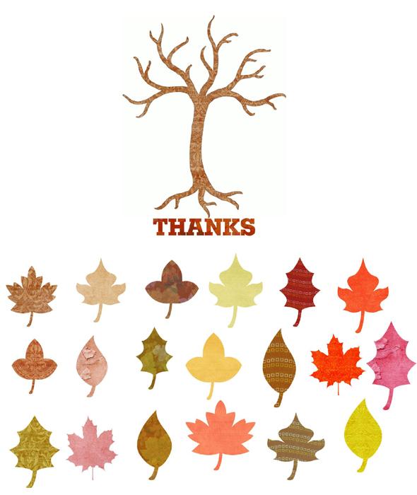 Free Printable Thanksgiving Thankful Tree