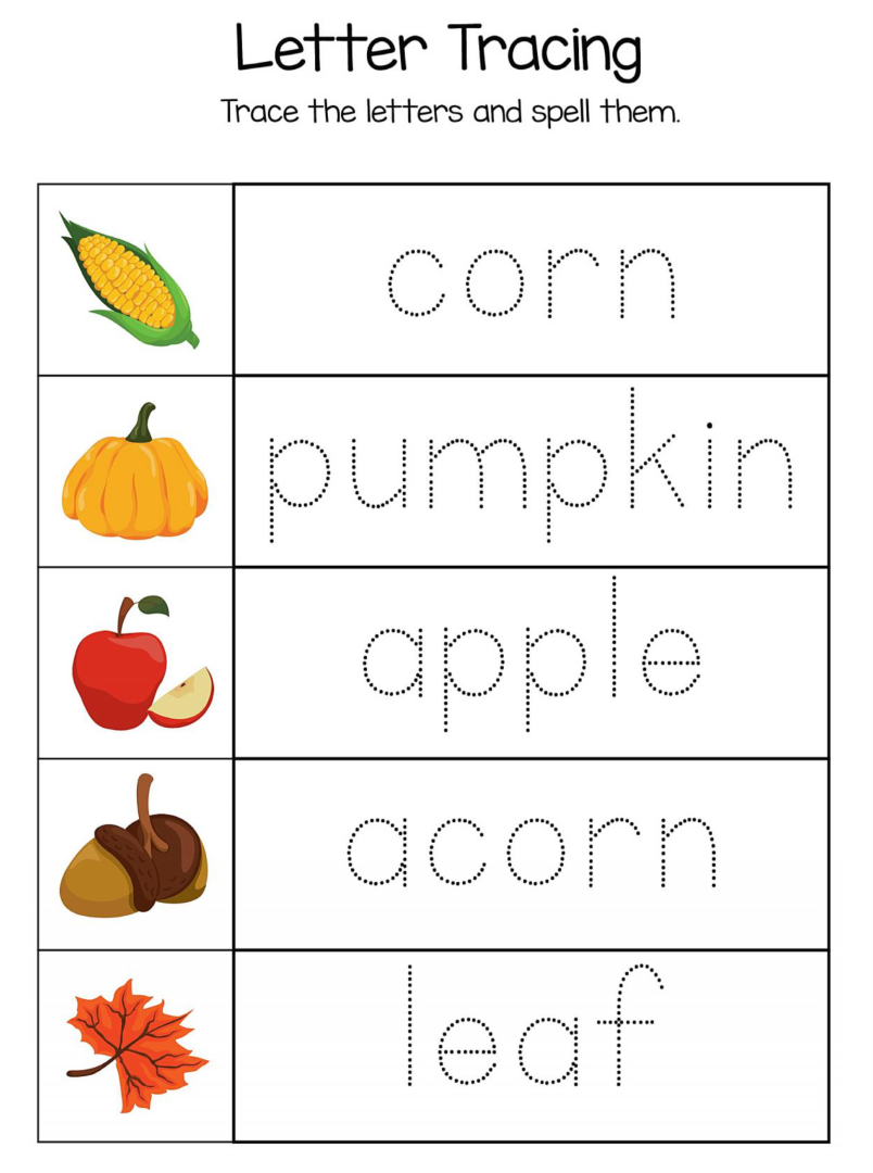 8 Best Images of Kindergarten Thanksgiving Printables Free – Free Thanksgiving Worksheets for Kindergarten