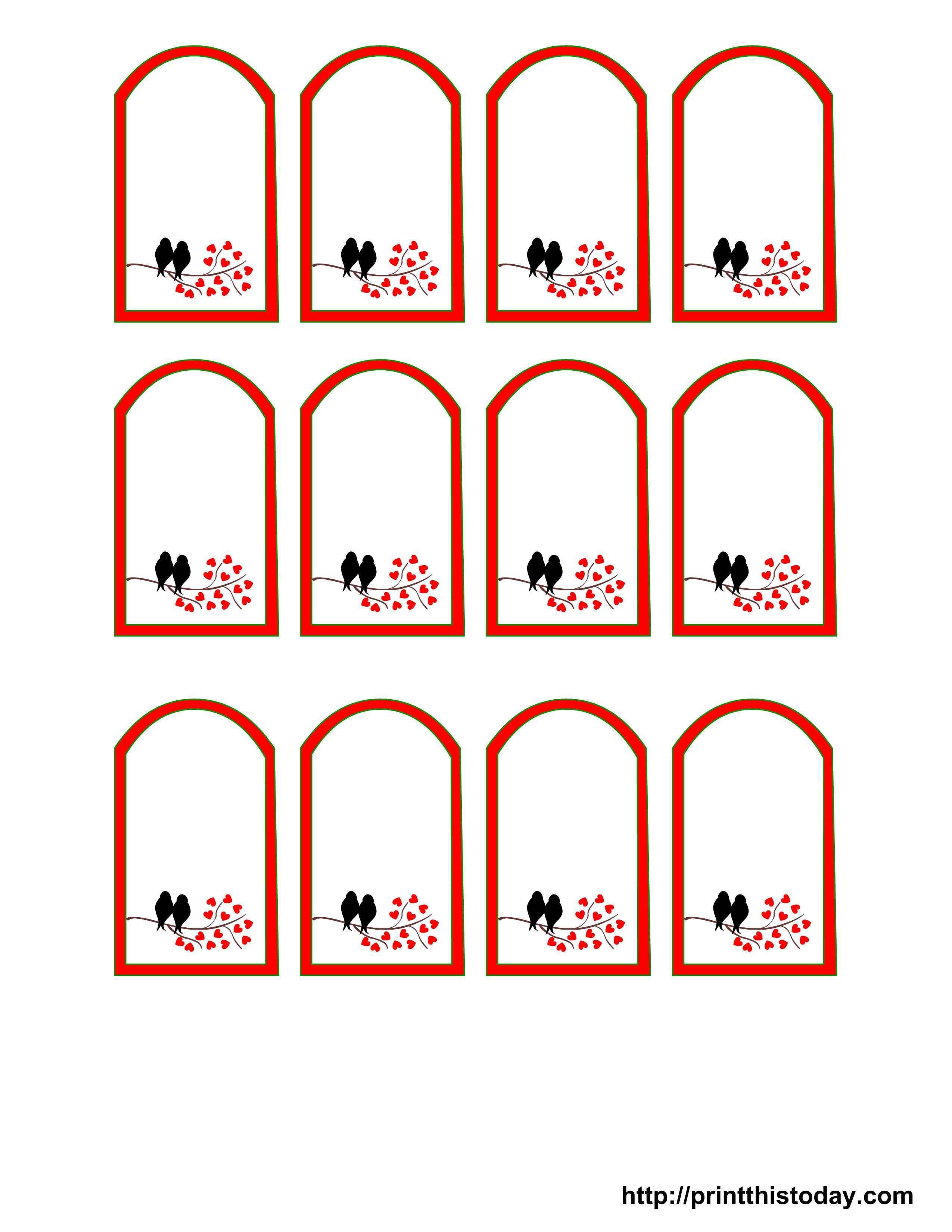 8 Images of Free Printable Wedding Favor Labels