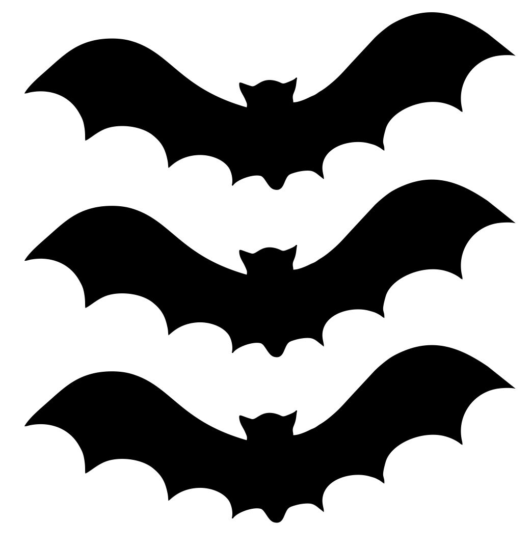 Halloween Bat Cut Out Templates