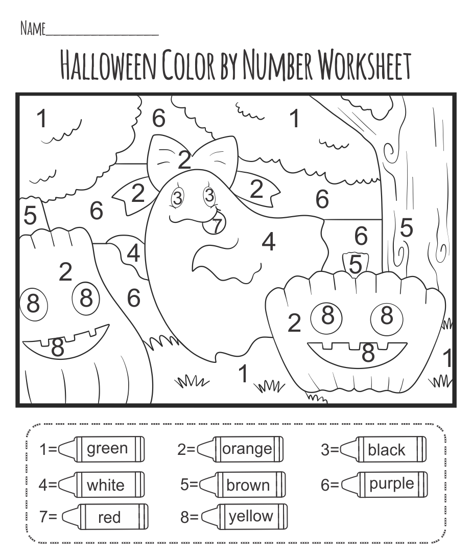 All Worksheets Halloween Worksheets Free Printable Worksheets – Fun Halloween Worksheets