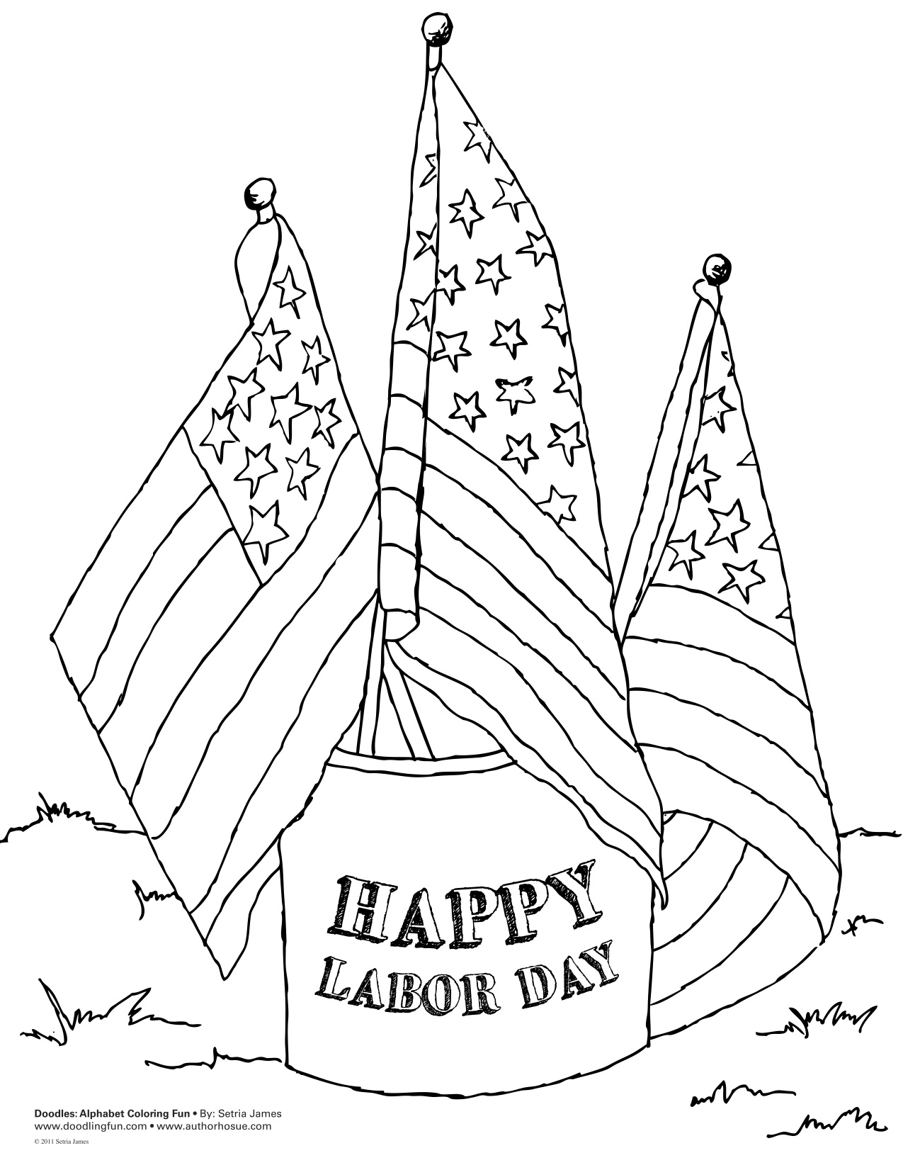 7 Best Images of Happy Labor Day Printable - Labor Day Free Printables,  Labor Day Coloring Pages for Kids and Happy Labor Day / printablee.com