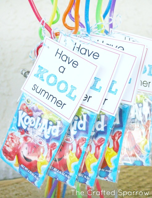 Have a Kool Summer Tag Printable End of Year Gifts