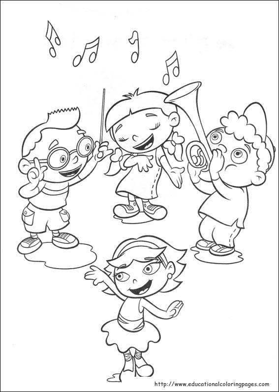 Раскраски девочки и мальчики танцуют