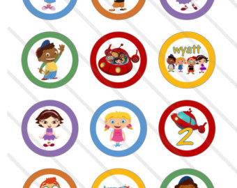 6 Images of Little Einsteins Printables