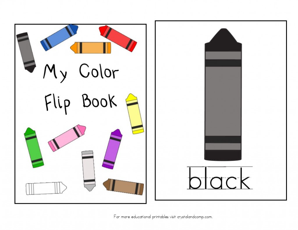7 best images of printable books to teach colors free printable - My Color Book Printable