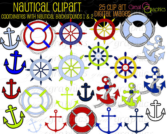 5 Images of Free Printable Nautical Art