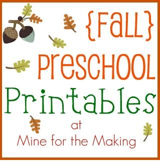 6 Best Images Of Fall Preschool Printables Fall Preschool Worksheets Preschool Fall Printables Free And Preschool Fall Printables Free Printablee Com