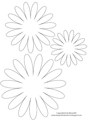 7 Images of Printable 3D Paper Flower Template