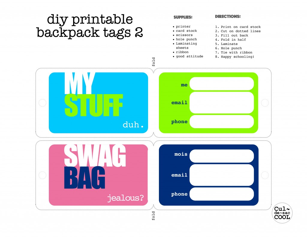 tags for gift bags template - 4 best images of free printable luggage tags template