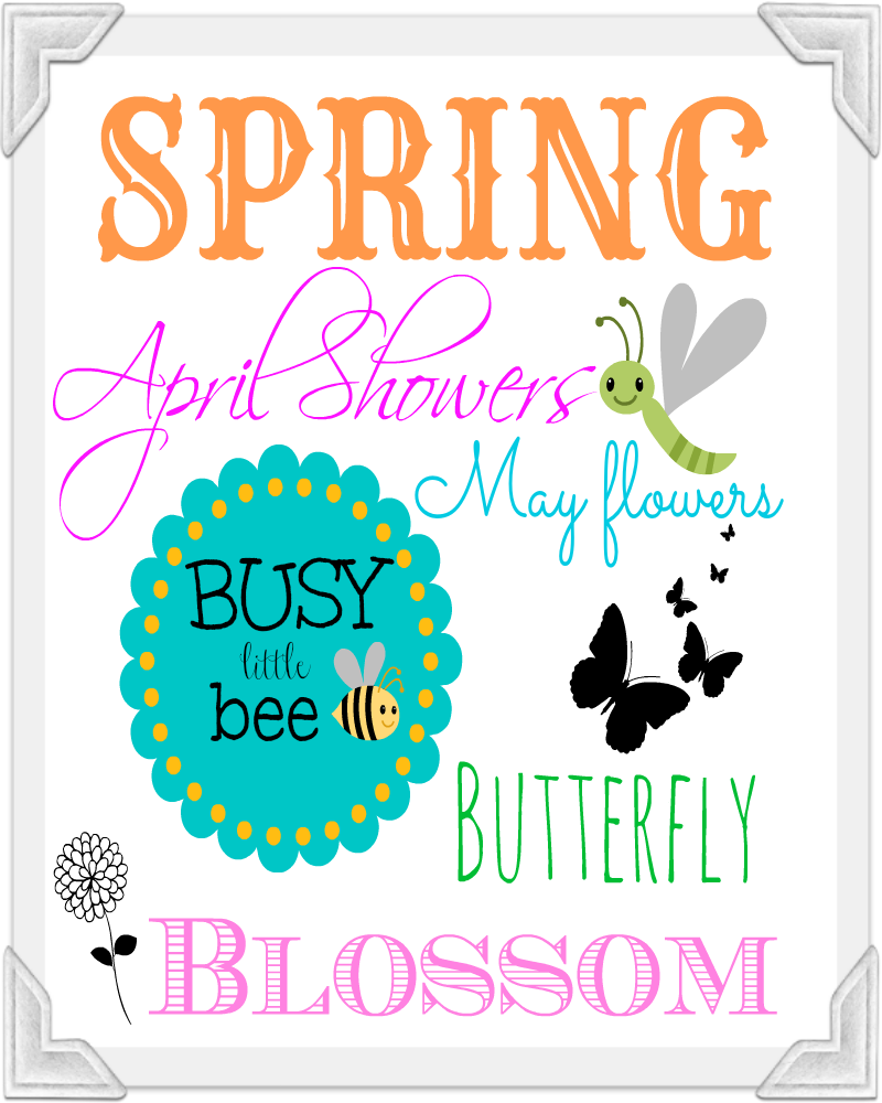 8 Images of Spring Printable