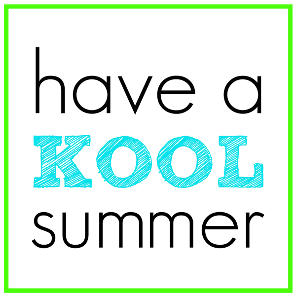 5 Images of Have A Kool Summer Printable Tags
