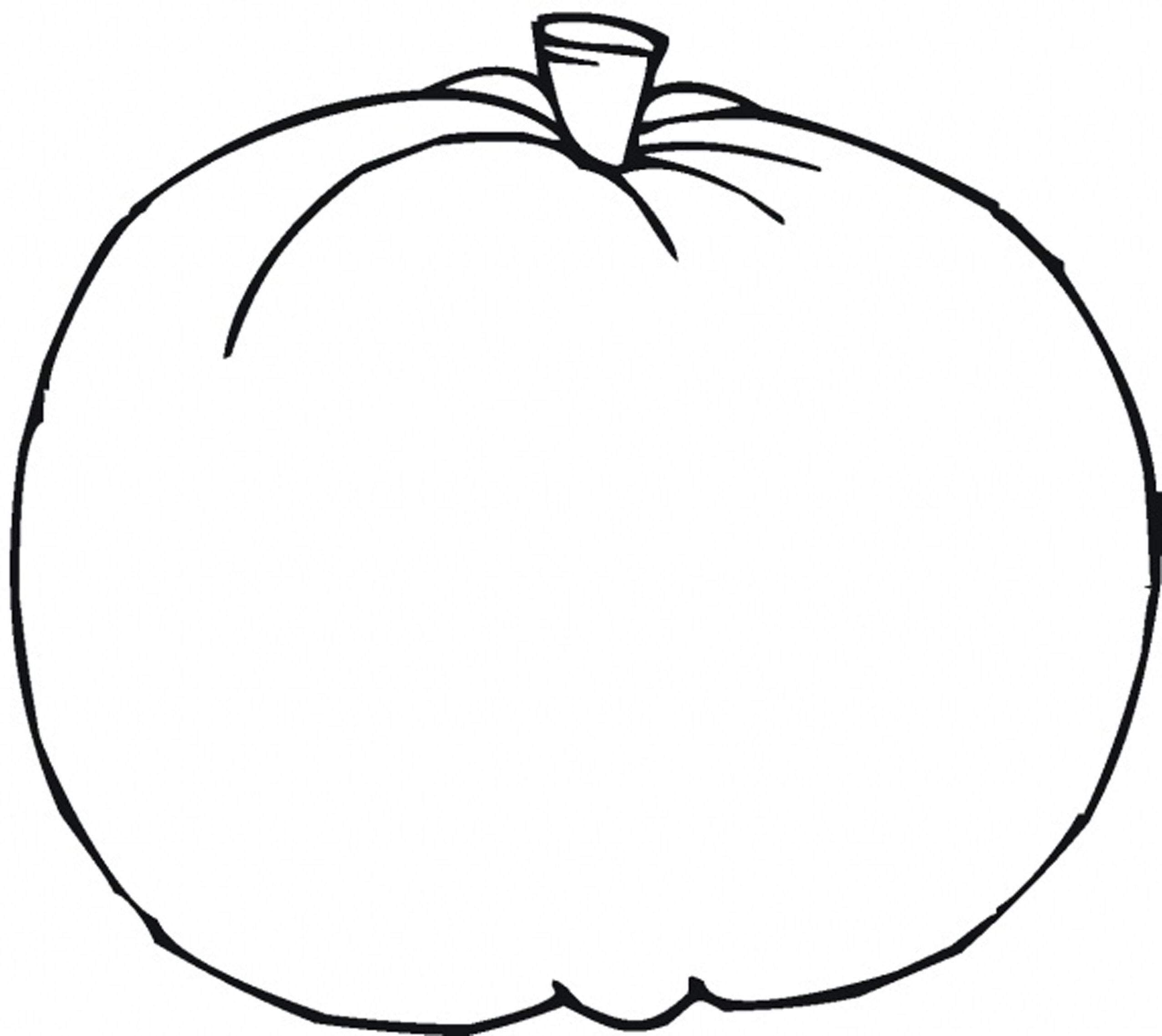 6 best images of pumpkin preschool printables free for Preschool pumpkin coloring pages
