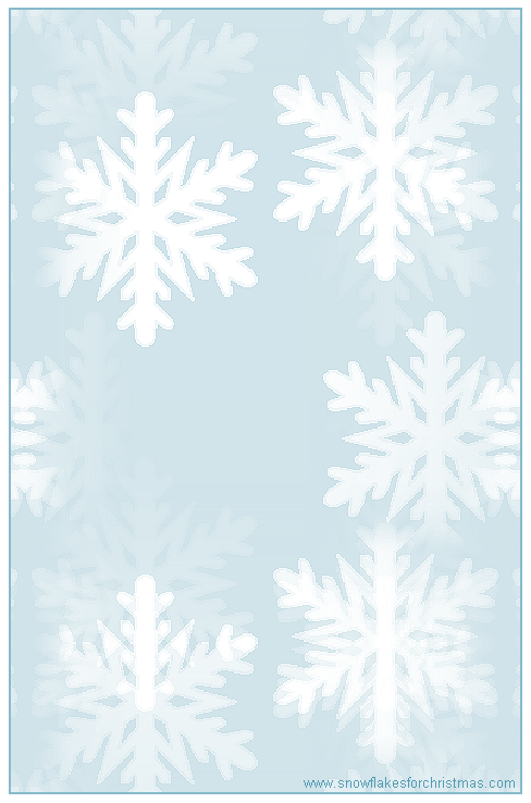 snowflake writing paper Snowflake backgrounds are all good and well, but for writing on so you can actually read it, we need the so called paper backgrounds - pale and pastel backgrounds.