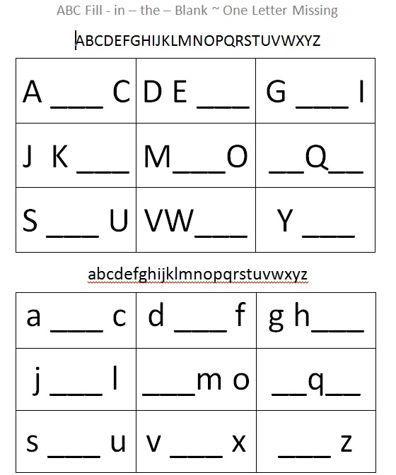 Kindergarten Abc Worksheets Free – Free Abc Worksheets for Kindergarten