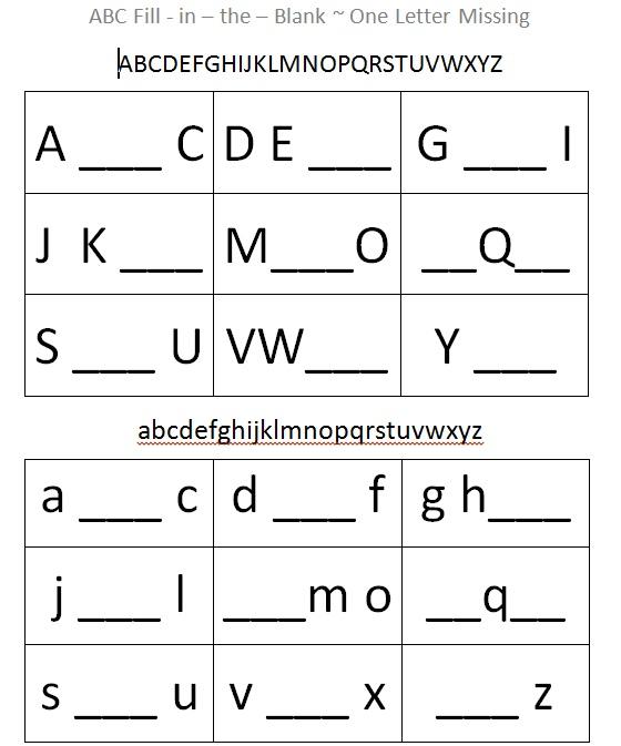 5 Best Images of Blank Printable Letter Worksheets - Blank ...