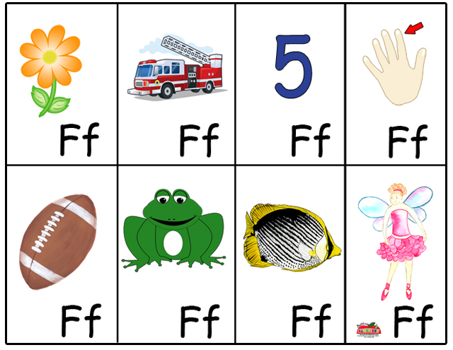 letter f flashcard 6 best images of free printable preschool alphabet flash 505