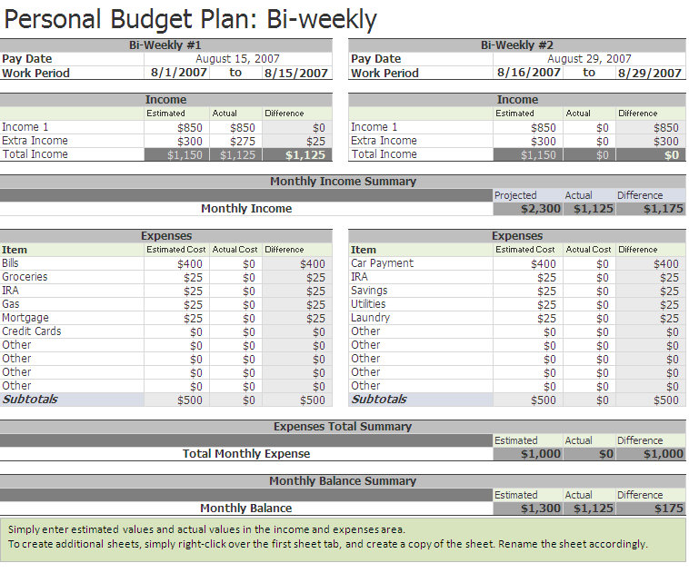 i need a spreadsheet template - free printable weekly budget worksheet free college