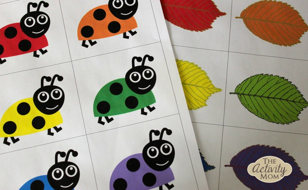 4 Images of Free Printable Color Fish Matching Game