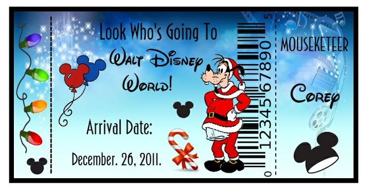 It is an image of Effortless Free Printable Pretend Disney Tickets