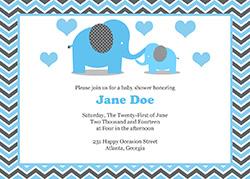 baby boy shower invitations templates