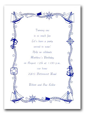 Nautical Wedding Invitation Template is adorable invitations ideas